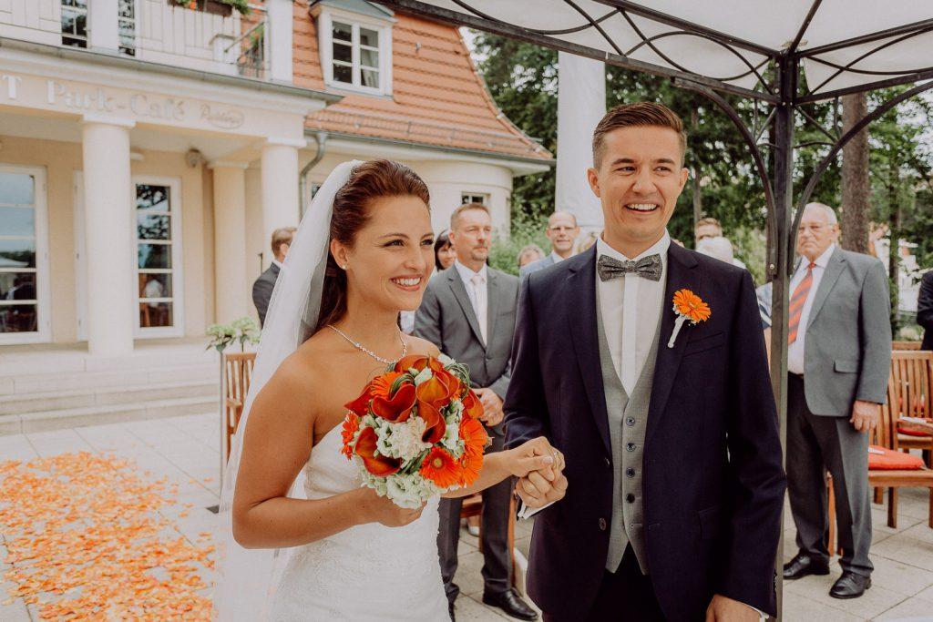 Hochzeitsfotos Parkcafe Theater am See Bad Saarow